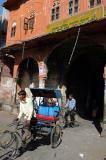 Rickshaw near the City Palace