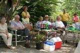 SE-ARS members at Velma Haag's garden