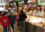 Food court, downtown LA