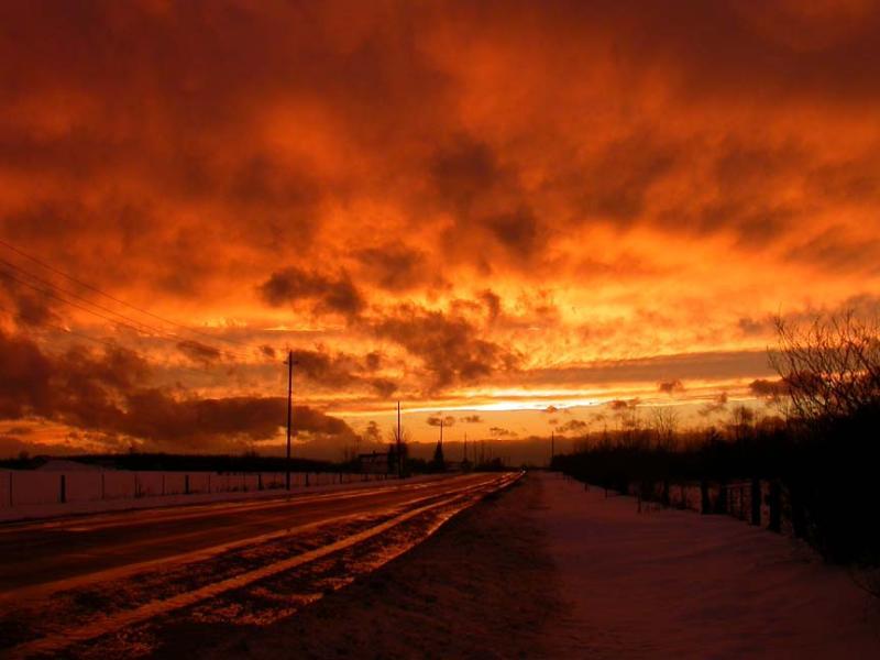 weird sunset after storm -- Dec--23--2004