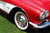 Red Corvette - An American Icon