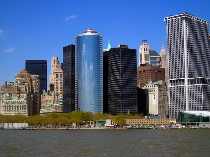 Skyline Battery Park