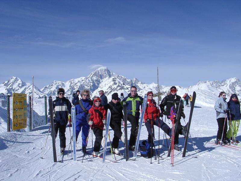 Mont Blanc / La Rosière - La Thuile and us