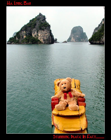 Frimpong in Ha Long Bay
