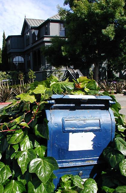 Corner Mailbox