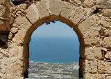 Girne (Kyrenia) from St. Hillarion