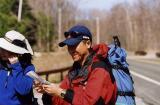 4-16-05 Hiking