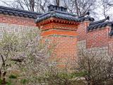 Old Chimney at Gyeongbok Palace in Seoul