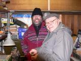 Roger and Steve in Workshop