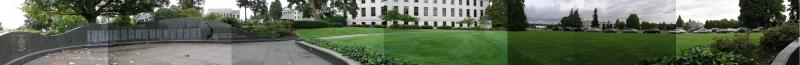 Panorama - Capitol Lawn - Olympia, Washington