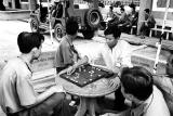 Chess Players at Cu Chi