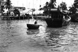 Boy on Mekong River