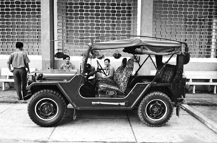 American Jeep at Cu Chi