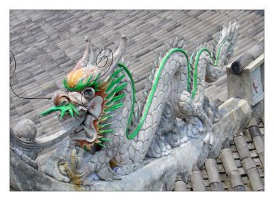 dragon green style