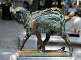 Fairmount Park Rittenhouse Square Goat