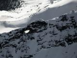 Cannon Hole, Bullet Hole: Snowfield E Ridge (Snowfield122304-19adj.jpg)