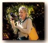 girl at san diego zoo