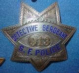 rare san francisco detective sergeant (inspectors) San Mateo County Museum