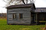 Fischer Farm Restored Cabin - Side View