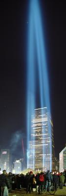 New York City: Tribute of lights in the night<BR><FONT size=1>by Omega Zero</font>