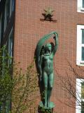 Venus on the old building of BDS in Bergen