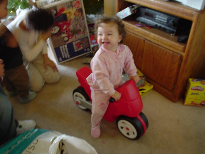 Leila and her motorcycle- (shes going to be mad when she finds out shes a girl)