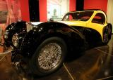 1937 Bugatti Type 575 Atalante - Million Dollar Car display - Petersen Automotive Museum