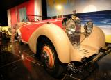 1934 Hispano-Suiza Type 68/J-12 Cabriolet - Million Dollar Car display - Petersen Automotive Museum
