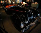 1938 Delahaye Type 135M Competition Roadster - Million Dollar Car display - Petersen Automotive Museum