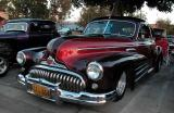 1949 Buick - Fuddruckers Lakewood, CA Saturday night meet