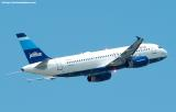 JetBlue A320-232 N533JB aviation stock photo