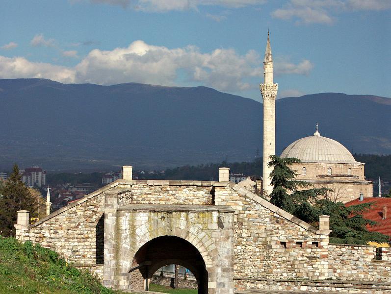 Kale and Mustafa Pasha Mosque