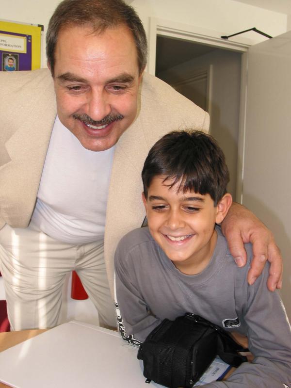 George & Stefanos