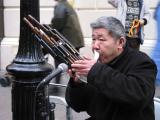 South American flutist in London