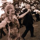 Jerry & Carolyn @ chair dance
