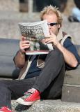 Reader in Washington Square