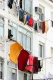 Hanging out the washing