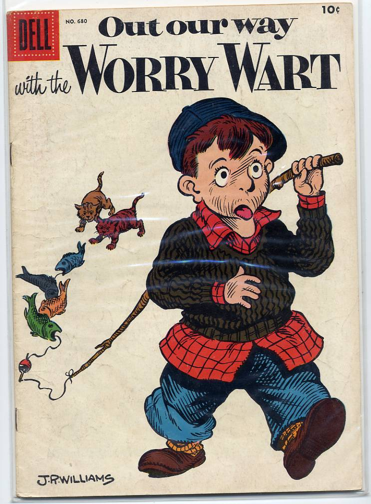 Out Our Way With The Worry Wart