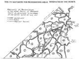 Nansemond Co. VA Map Precincts 1743