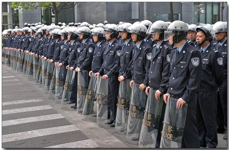 Shanghai Protest