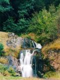 Waterfall entering Loch Lochy
