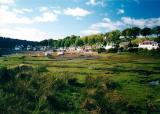 Low Tide at Plockton... village used for filming of Hamish Macbeth (BBC)