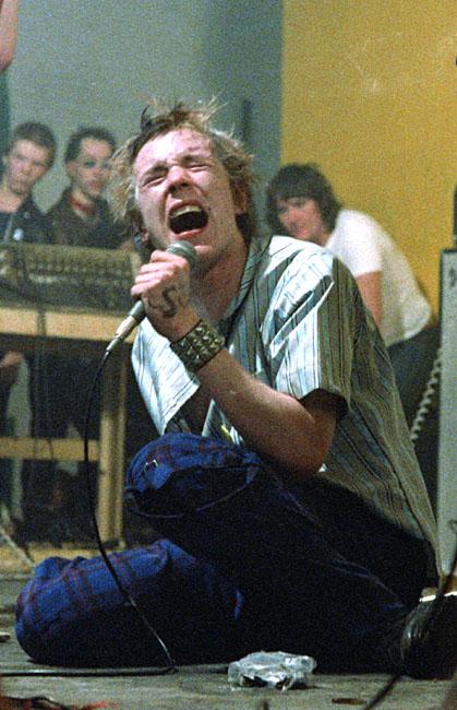 Sex Pistols; Johnny Rotten