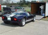 2005 GT40 FORD FASTEST TIME OF 125 MPH ON A VERY WINDY SATURDAY