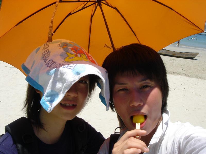 Fion & Jesse »´ä¦è°^¤j®ö¦èÆW....HK Sai Kung Tai Long Sai Wan