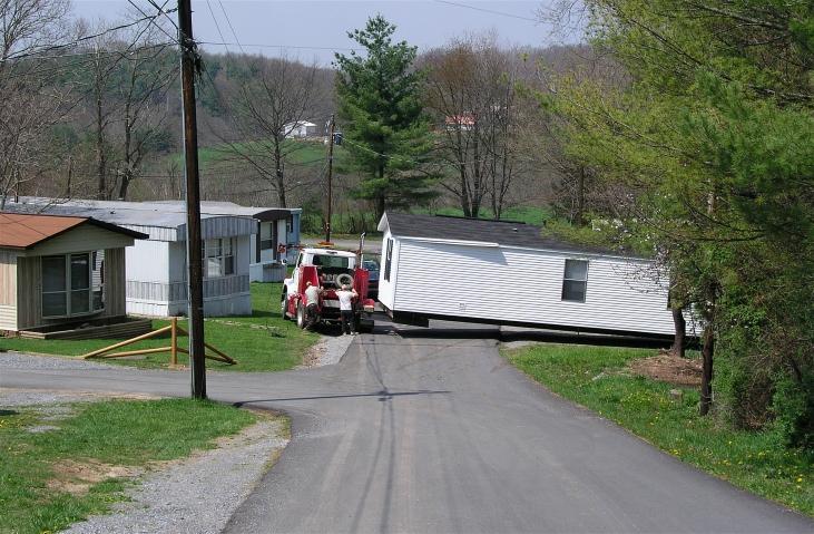 Putting a trailer in