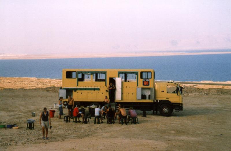 Dead Sea -  bush camp