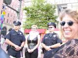 San Francisco GLBT Pride Parade - Dykes on Bykes June '02