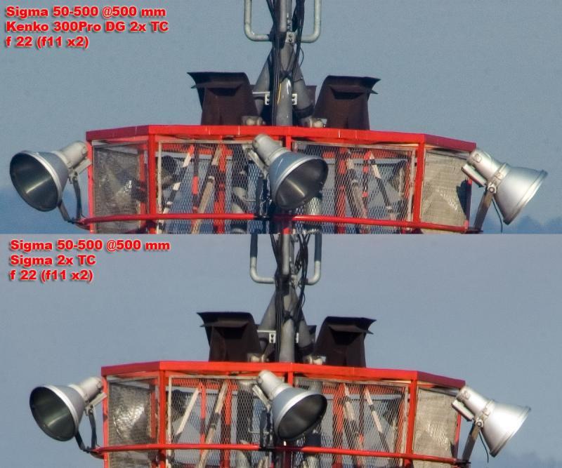 2x teleconverters: Sigma vs Kenko