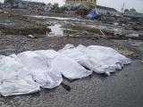 bodies of deceased in downtown Aceh, Sumatra